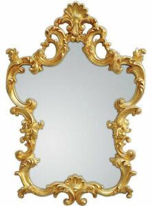 XXL Wall Mirror Antique Baroque Rococo 76 X 110 CM IN Gold Mirror New Woe