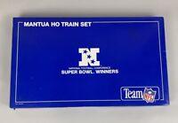 Vintage Mantua Super Bowl Winners NFL HO gauge train set UNUSED