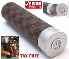 Cigar Humidor Humidifier Travel Case Hygrometer Aluminium Portable Cigars Box