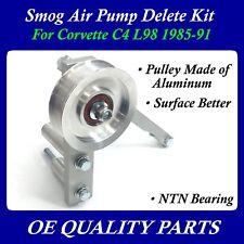 Upgrade Smog Air Pump Delete Pulley Eliminator Kit for 1985-91 Corvette C4 L98