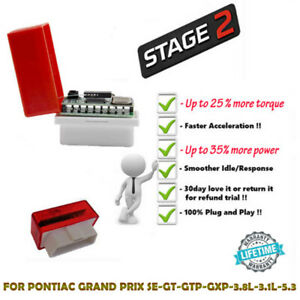 FOR PONTIAC GRAND PRIX SE-GT-GTP-GXP-3.8L-3.1L-5.3 SUPER OBD2 PERFORMANCE CHIP