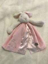 """Bunnies By The Bay Baby Buddy Blanket Lovey Pink Girl 14"""" Bunny"""