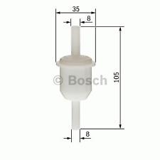 Kraftstofffilter - Bosch 0 450 904 058