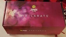 Zumba Fitness Exhilarate Body Shaping System 5 DVD Set Toning Sticks + Rush DVD