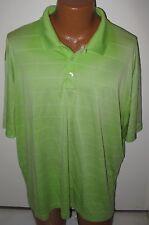 Champion Golf - Men'S Xxl - Green - Duo-Dry Polyester Polo Shirt
