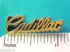 CADILLAC   SCRIPT  - hat pin , hatpin , lapel pin , tie tac  GIFT BOXED (Q)
