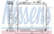 NISSENS Radiador, refrigeración del motor KIA K2500 BONGO K2700 66622