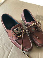 RARE VTG POLO 1992 BOAT DECK SHOES SIZE 10.5 CP RL-92 CPRL USA FLAG 1993 SPORT