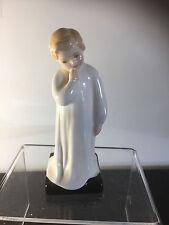 Rare DARLING Boy / child figure Royal Doulton HN1985 English 1940's 14cms tall