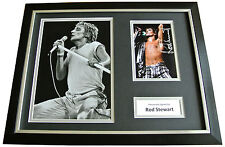 ROD STEWART Signed FRAMED Photo Autograph 16x12 Display Music The FACES & COA