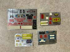 Hasbro 1980's Vintage G1 Transformers Partially Sticker Sheets Decals Lot #1
