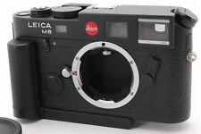 【TOP MINT】 Leica M6 TTL 0.85 Black Rangefinder Film Camera Grip from japan #1699