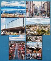 Quality Set of 6 Brand New Glossy Postcards, SOFIA Bulgaria 63O
