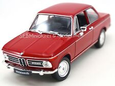 BMW 2002 Ti COUPÉ ROUGE  - 1/24 WELLY