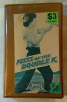 Fists of the Double K VHS 1973 Martial Arts John Woo Jackie Chan Video Classics