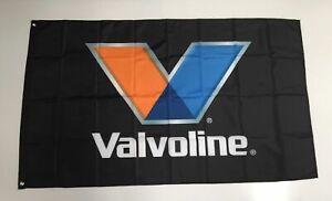 Valvoline Style 1 Banner Flag - Car Racing Performance Power Motor Oil Mechanic