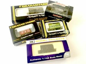 Graham Farish Dapol Mathieson N Scale Wagons Boxed Pre-Owned Choose From Menu