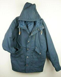 Burton Durable Goods Jacket Coat Blue Quilted lining XXLarge Snowboarding XXL