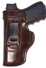 HD Sig Sauer P 938 Inside The Waistband Leather Left Hand BROWN Gun Holster **