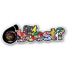 JDM Sticker Bomb Got Boost Sticker 200mm Quality Vinyl Water & Fade Proof
