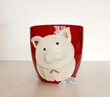 Starbucks Korea 2019 New Year Limited Gold Pig Red Mug Cup Tumbler 355ml + Gift