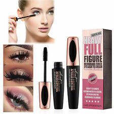 4D Silk Fiber Lash Mascara Makeup Black Eyelash Mascara Eye Lashes Lengthening~