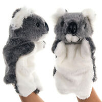 AU_ Koala Animal Plush Hand Glove Puppet Role Play Story Telling Kids Toy Latest