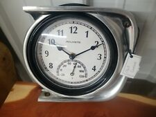 Vintage Chevy Chevrolet Camaro 1967 Thermometer Headlight Clock