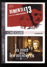 DEMENCIA 13 (COPPOLA) + LA NOCHE DE TOUS LES MISTERIOS 2 DVD ZONA 2