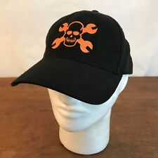 Dedienne Aerospace Skull Black Cotton Baseball Cap Hat
