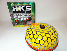 HKS 100mm JDM Air Inlet Filter Yellow JDM Super Power Flow Reloaded Kit 200MM