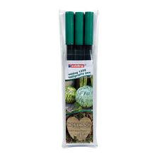 Edding Calligraphy Pen Set -  Pack of 3 - 2mm 3.5mm 5mm - Bottle Green