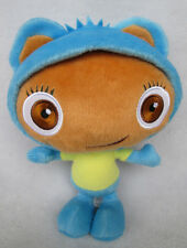 "8.5"" Mattel Waybaloo Childs Soft Blue Plush Toy Fisher-Price"