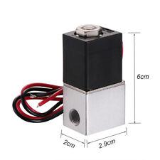 """Magnetventil DC 12V Elektro 1/8"""" Ventil Electric Solenoid Valve für Wasser Luft"""