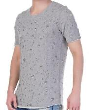 Magliette da uomo grigi marca Redbridge