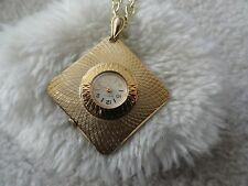 Caravelle Wind Up Necklace Pendant Watch - Not Working