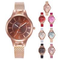 Fashion Women's Watch Retro Dial Leather Analog Watches Quartz Wristwatch Gift