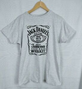 Jack Daniel's Tennessee Whiskey Men's T Shirt Size M VGC Short Sleeve Cotton