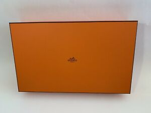 AUTHENTIC EMPTY HERMES ORANGE BOXES (2 Boxes) and Large Shopping Bag