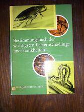 altes Buch Bestimmungsbuch der Kiefernschädlinge und krankheiten 27x19cm 1978