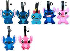 Disney lilo&stitch scrump stitch luggage tag baggage tips silica gel tags cute g