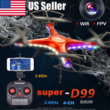 SHENGKAI D99A RC Quadcopter Drone WIFI FPV 2MP Camera 2.4G 4CH 6Axis Waterproof