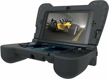 Comfort Grips Nintendo New 3DS XL Accessories Black Silicone Case Cover Armor