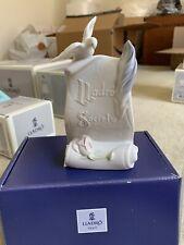 Lladro figurine # 07677 Society Scroll Art Brings Us Together In Original Box