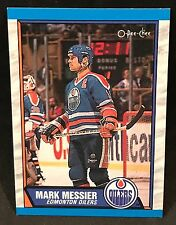 1989-90 OPC O-PEE-CHEE HOCKEY MARK MESSIER CARD #65 EDMONTON OILERS MINT