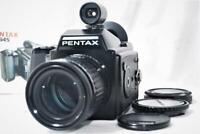 """""""NEAR MINT"""" Pentax 645 Medium Format Film Camera [WORKS] w/A 645 150mm F3.5 Lens"""