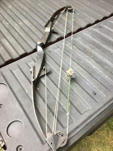 "Archery Compound Bow Bear Whitetail Hunter Amo String Strength 39"""