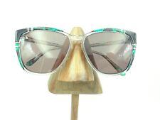 b83ce4808a1 Vintage Giorgio Sant Anqelo Black Green Marble Gold Square Sunglasses Frames