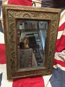 Beautiful Original Bevelled Victorian Wall Mirror