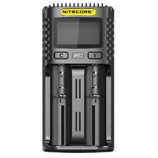 NITECORE Ums2 2-schacht Usb-ladegerät mit LCD
